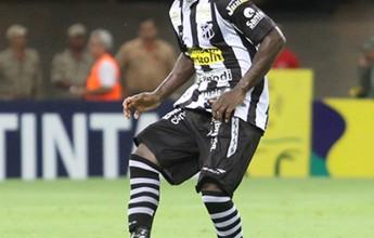 Sandro é liberado pelo DM do Ceará e deve voltar aos treinos em 10 dias