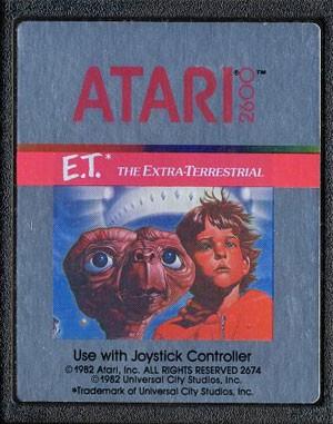 Cartuchos de 'E.T.' do Atari 2600 podem ser desenterrados do deserto do Novo México (Foto: Divulgação/Atari)
