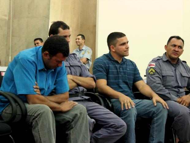 O julgamento durou cerca de 13 horas (Foto: Mônica Dias/G1)