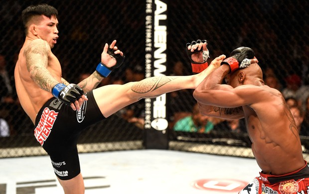 Marcus Brimage e Russell Doane UFC 175  (Foto: Getty Images)