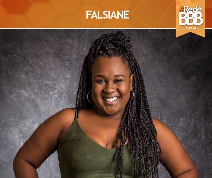 Roberta foi eleita como Falsiane do BBB17 (Foto: Gshow)