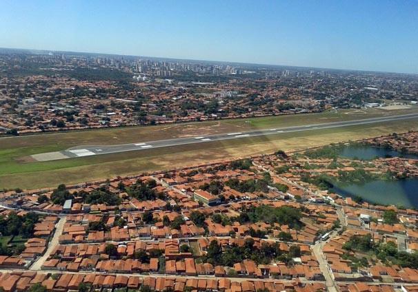 Vista do bairro Aeroporto, Zona Norte de Teresina (Foto: TV Clube)