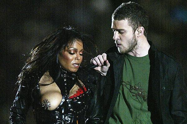 Janet Jackson e Justin Timberlake (2004) (Foto: Getty Images)