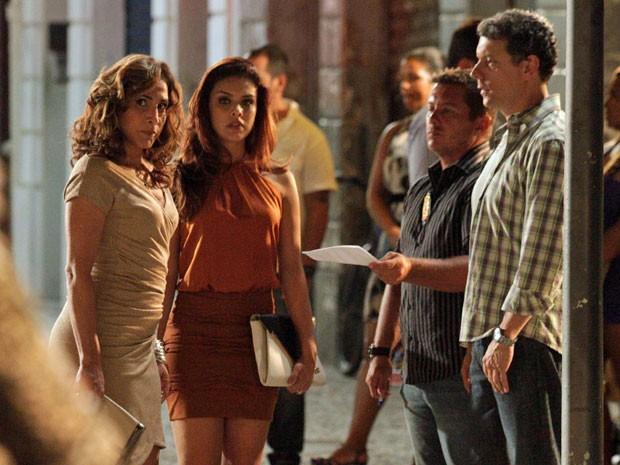 Wanda fica furiosa com a intimação (Foto: Salve Jorge/TV Globo)