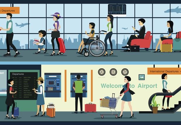 Aeroporto ilustração (Foto: Thinkstock)