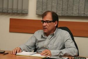 Nilso Moreira pede apoio aos torcedores do CAP (Foto: Silas Reche/ Penapolense)