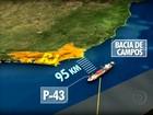 Petrobras reduz produção na P-43 após vazamento