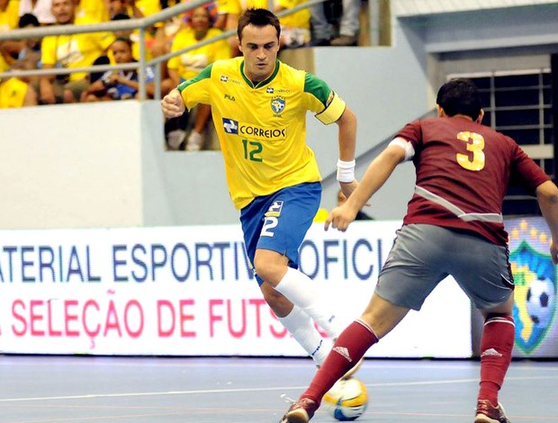 Falcão Brasil futsal desafio Venezuela (Foto: Luciano Bergamaschi / CBFS)