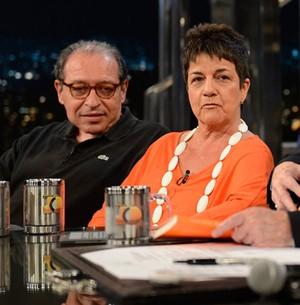 Heloísa Seixas lança livro sobre  Ruy Castro (TV Globo/Programa do Jô)