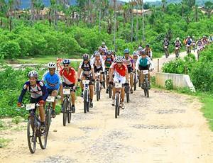 Largada acontece em Teresina e chegada no Ceará (Foto: Divulgação)
