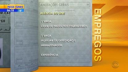 Empregos: agência do Sine de Bento Gonçalves tem vagas abertas na Serra do RS