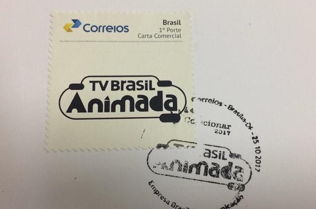 Desenhos animados da TV Brasil inspiram selo lançado pelos Correios (Foto: Reprodução)