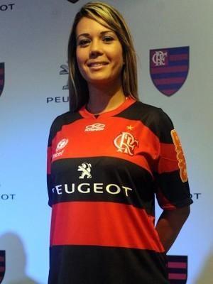 Flamengo apresenta nova patrocinadora: Peugeot (Foto: Alexandre Vidal / Fla Imagem)