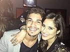 'Nunca foi namoro', diz Camilla Camargo sobre relação com ator