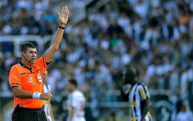 Marcelo de Lima juiz jogo Botafogo Fluminense (Foto: Dhavid Normando / Ag. Estado)