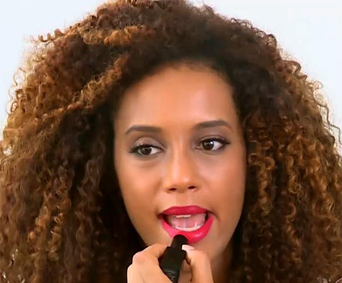 Taís Araújo diz que adora a 'montação' de sua personagem Michele (Foto: Vídeo Show / Gshow)