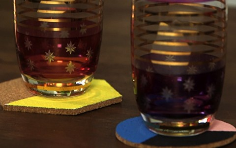 Faça você mesmo: blogueira ensina a criar um charmoso jogo de porta-copos