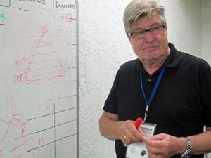 Kaj Micklos, idealizador da Innovation Race (Foto: Paulo Guilherme/G1)