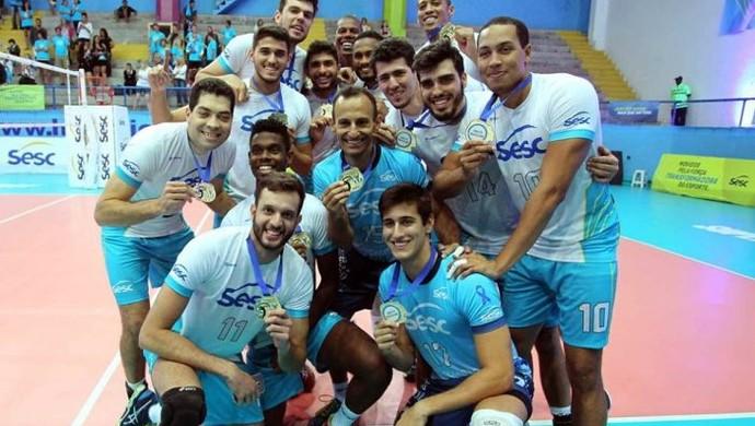 Sesc-RJ x Jaó - Superliga B (Foto: Divulgação/Sesc-RJ)