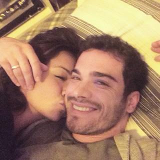 Sidney Sampaio e Carol Nakamura (Foto: Reprodução/ Instagram)