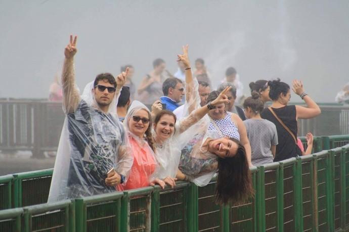 As famílias se divertiram em um tour pelo Paraná (Foto: Arquivo pessoal)