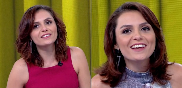 Penteados de Monica Iozzi (Foto: Vídeo Show / TV Globo)