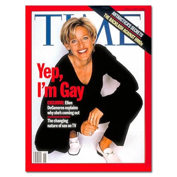 Ellen DeGeneres na Time (Foto: Reprodução)
