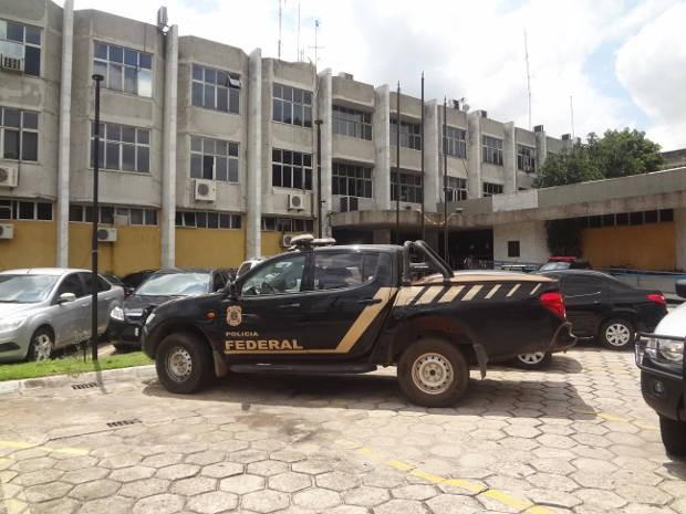 Operação Berrante Polícia Federal Pará (Foto: Luana Laboissiere/G1)