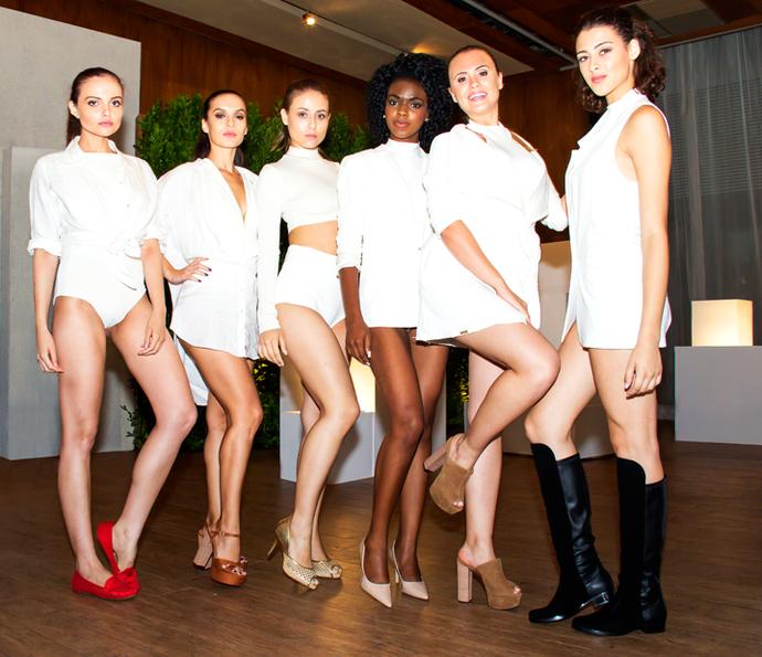 Modelos de sapatos da Vizzano são sucesso em evento (Foto: Wellington Lima)