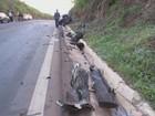 Acidentes deixam oito mortos em  48h nas rodovias do Sul de Minas