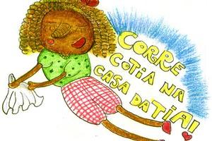 Ilustração corre cotia (Foto: Crescer)