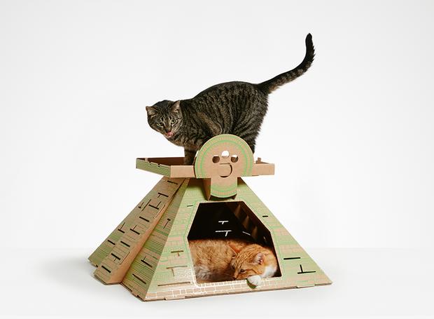 A versão para gatos do Tempo Maia mede  67 x 62 x 36 cm (Foto: Divulgação)