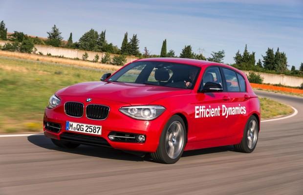 Protótipo - BMW Série 1  (Foto: Divulgação)