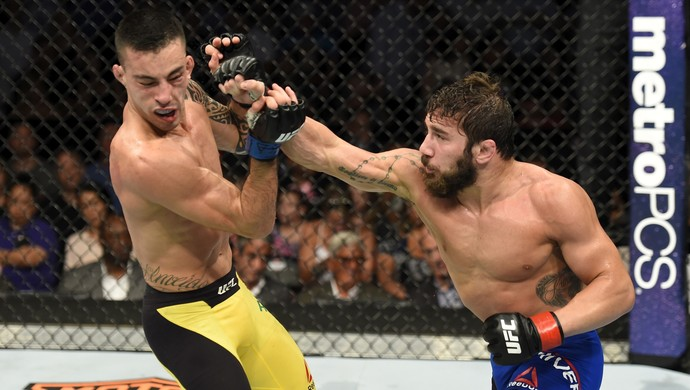 Thomas Almeida x Jimmie Rivera UFC Long Island (Foto: Getty Images)