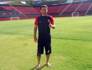 Juan; Vitória (Foto: Rafael Santana)