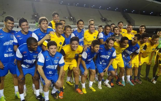 jogo das estrelas Belém (Foto: Pedro Cruz / Globoesporte.com)