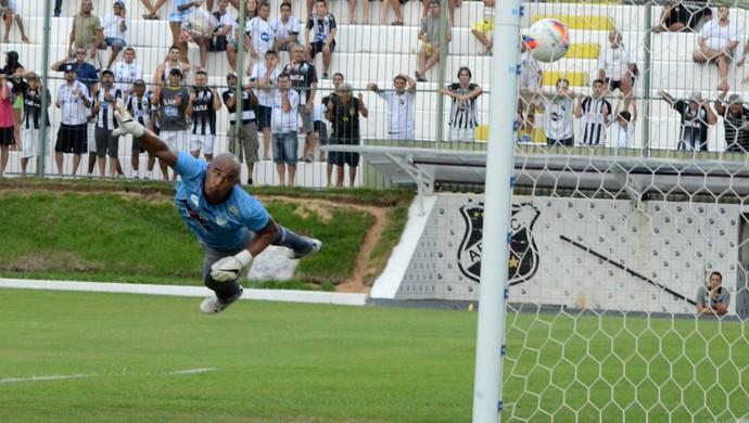 Danilo, goleiro do Alecrim (Foto: Frankie Marcone/Divulgação/ABC)
