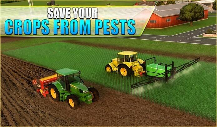 Simulador de fazenda onde você dirige muitos tratores diferentes (Foto: Divulgação)