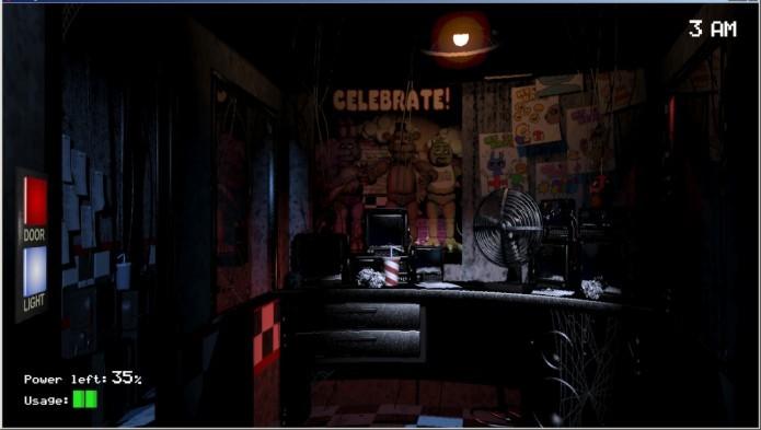 Five Nights at Freddys: jogador toma o papel de um guarda noturno (Foto: Divulgação)