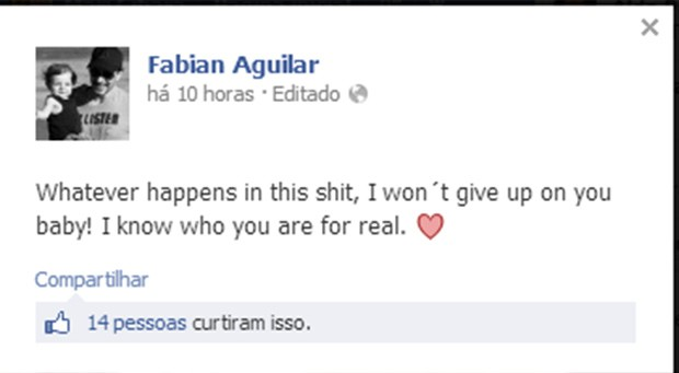 Fabian Aguilar (Foto: Reprodução/ Facebook)