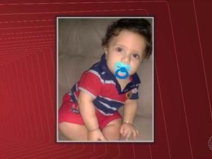 Bebê de nove meses que morreu no sul da Bahia (Foto: Imagem/TV Santa Cruz)