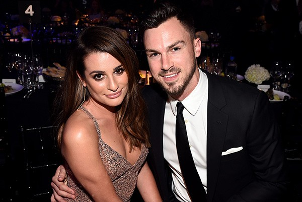 Lea Michele e Matthew Paetz (Foto: Getty Images)