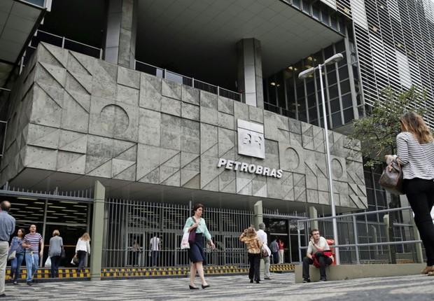 Sede da Petrobras no Rio de Janeiro (Foto: Pilar Olivares/Reuters)