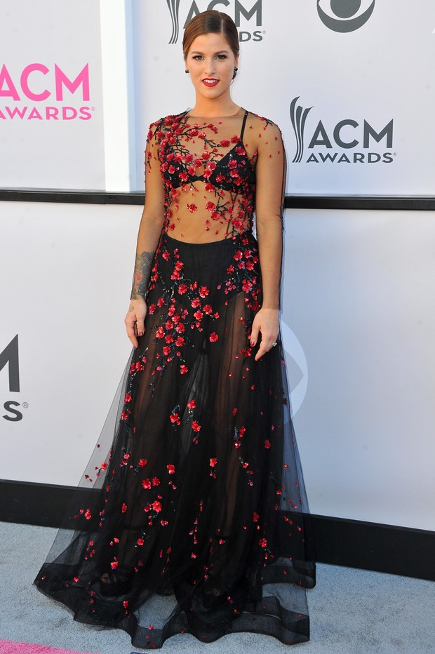 Cassadee Pope no American Country Music Awards (Foto: Getty Images)