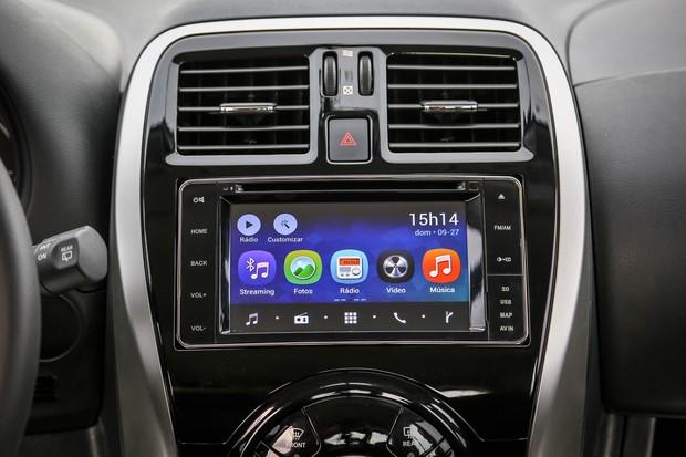 Versa ganha nova central multimídia e opções de pacotes para a linha. (Foto: Nissan)