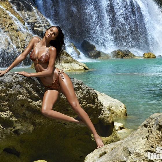 Atualmente a piauiense Laís Ribeiro é uma das modelos brasileiras de maior sucesso no exterior (Foto: Divulgação)