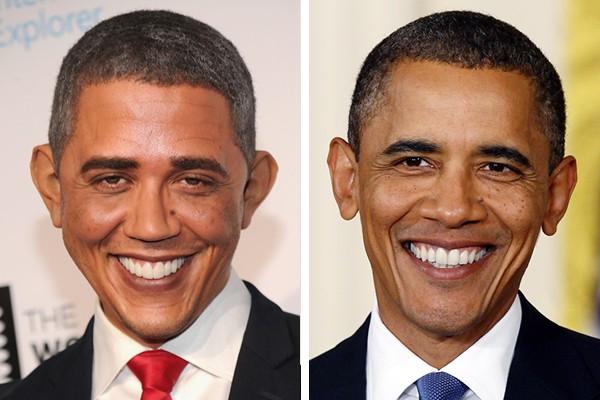 Reggie Brown é sósia de Barack Obama (Foto: Getty Images)