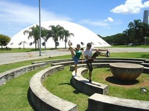 Karine Nobre - Parque do Ibirapuera (VC no G1) (Foto: Karine Nobre - Parque do Ibirapuera (VC no G1))