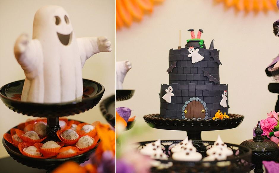 Decoracao De Halloween Para Festa De Aniversario.Festa Infantil Com O Tema Halloween No Fazendo A Festa Fazendo