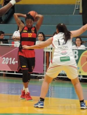 Presidente Venceslau x Sport - Liga de Basquete Feminino - Erica Wheller (Foto: João Paulo Tilio / GloboEsporte.com)